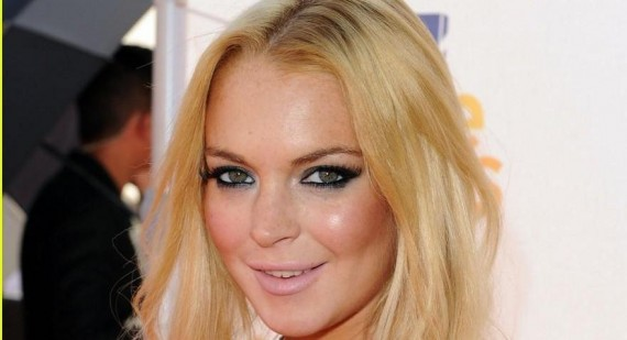 What did Lindsay Lohan get in trouble for this past week?