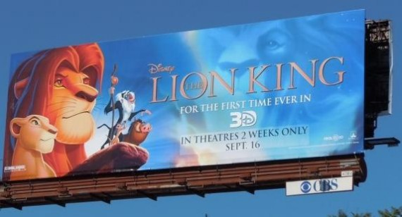 Lion King 3D set for big opening