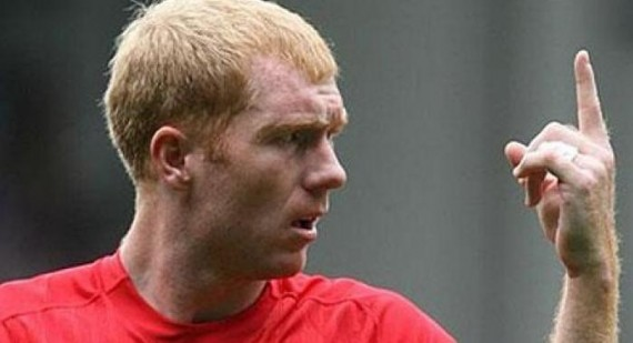 Manchester United's Paul Scholes compares coaching to the title race