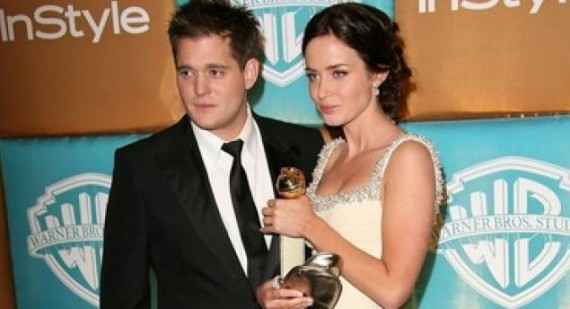 Michael Buble talks Emily Blunt break up