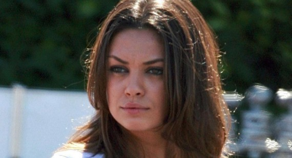 What is this girls problem with Mila Kunis?
