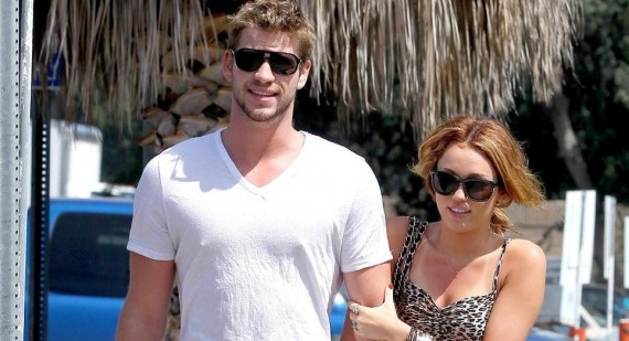 Miley Cyrus and Liam Hemsworth spend some quality time together