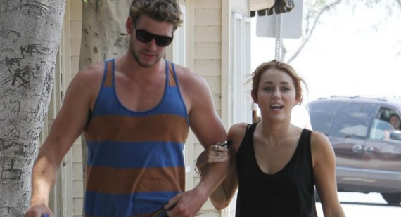 Miley Cyrus denies Liam Hemsworth engagement