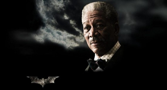 Morgan Freeman talks The Dark Knight Rises