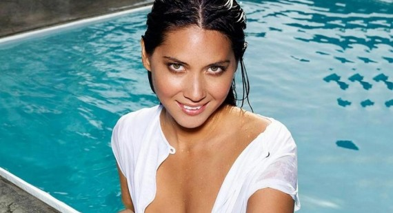 "Olivia Munn: ""I drink when I work out."""