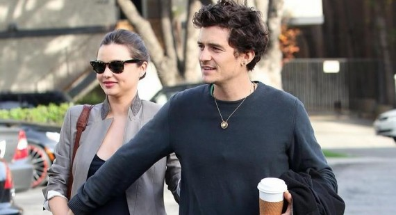 Orlando Bloom praises Miranda Kerr for post pregnancy weight loss