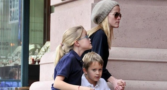 Reese Witherspoon embarrasses her kids