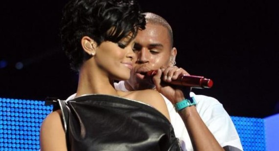 When did Chris Brown and Janet Jackson start dating?