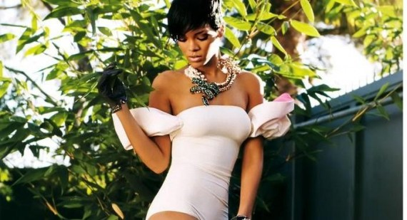Rihanna considering £1 million payment to pose naked for Playboy