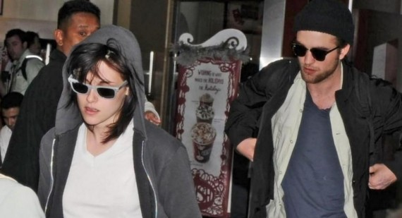Robert Pattinson and Kristen Stewart back together