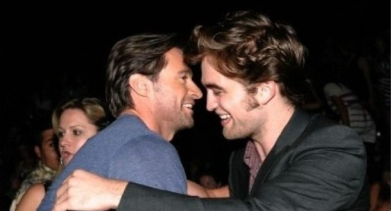 Where did Robert Pattinson & ben barnes meet?