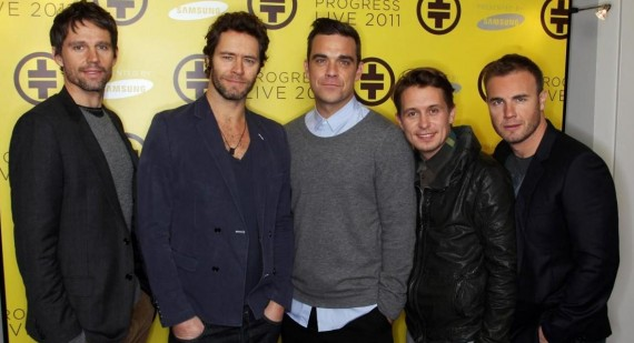 Take That and Robbie Williams are all good