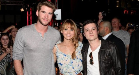 The Hunger Games' Jennifer Lawrence, Liam Hemsworth and Josh Hutcherson discuss weight loss, weight gain and dieting