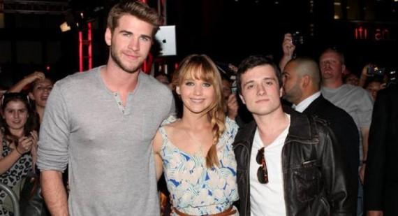 The Hunger Games Jennifer Lawrence, Josh Hutcherson and Liam Hemsworth all to return for Catching Fire