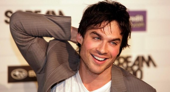 The Vampire Diaries Ian Somerhalder proud to receive animal rights award