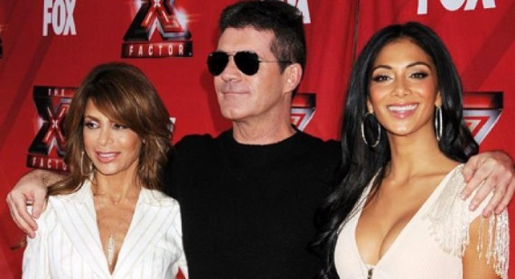 The X Factor USA's Simon Cowell praises Nicole Scherzinger and Paula Abdul