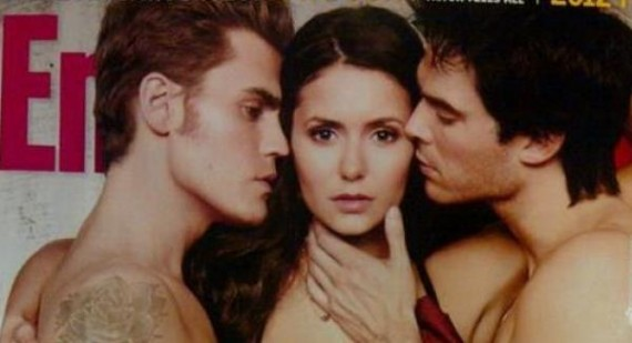 Torrey Devitto reacts to Paul Wesley and Nina Dobrev nude The Vampire Diaries pics