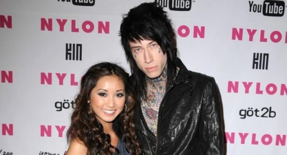 Trace Cyrus' gets Brenda Song pregnant rumours