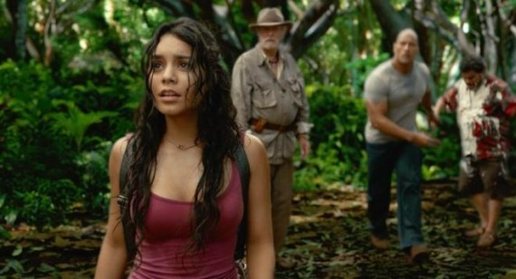 Vanessa Hudgens praises Dwayne Johnson and Michael Caine in Journey 2: The Mysterious Island