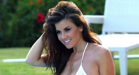 Where does Imogen Thomas get her dresses from?