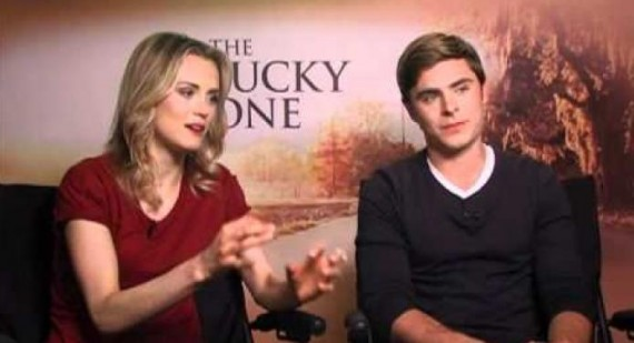 Zac Efron praises The Lucky One co-star Taylor Schilling