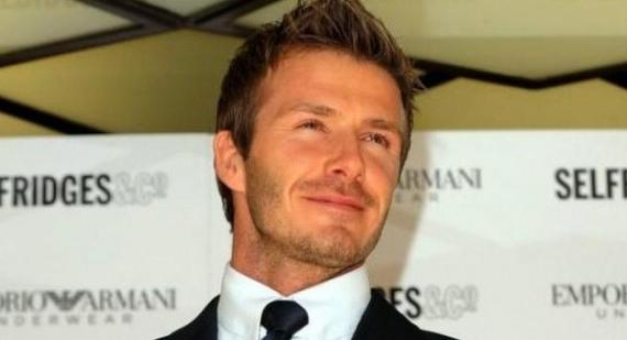 Where was David Beckham born?