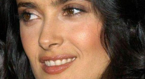 Salma Hayek 'is at the limit of chubbiness' at all times