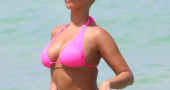 Amber Rose Bikini Model