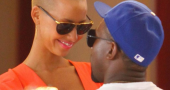 Kanye West Amber Rose Intermix And Kanye West