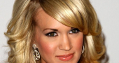 Carrie Underwood Blond Ehair Hair