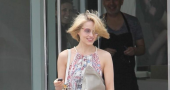 Dianna Agron Haircut Touchups Haircut