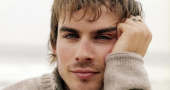 Men Male Celebrity Ian Somerhalder In Sweater Wallpaper