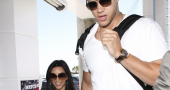 Kim Kardashian Kris Humphries Holiday