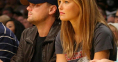 Leonardo Dicaprio Bar Refaeli Lakers Lovers And Leonardo Dicaprio