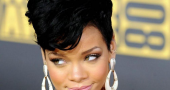 Rihanna Mohawk Hairstyles For Short Hair