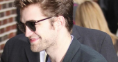 Robert Pattinson David Letterman Photos Top Off