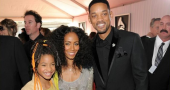 Willow Smith with parents Grammy Awards