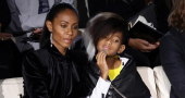 Willow Smith Front Row Armani Fashion Show