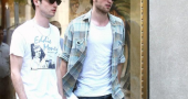 Tom Rob Tom Sturridge And Robert Pattinson
