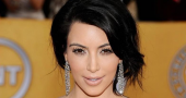 Kim Kardashian Sag Awards Red Carpet