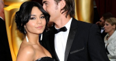 Zac Efron Vanessa Hudgens Vanity Fair Party Top Off