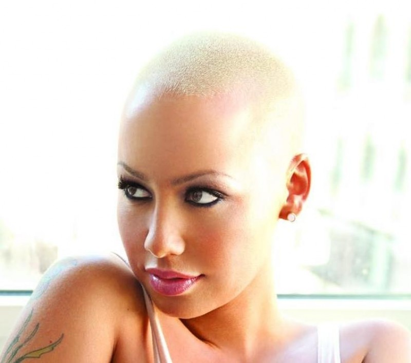 Amber Rose King Magazine With Hair
