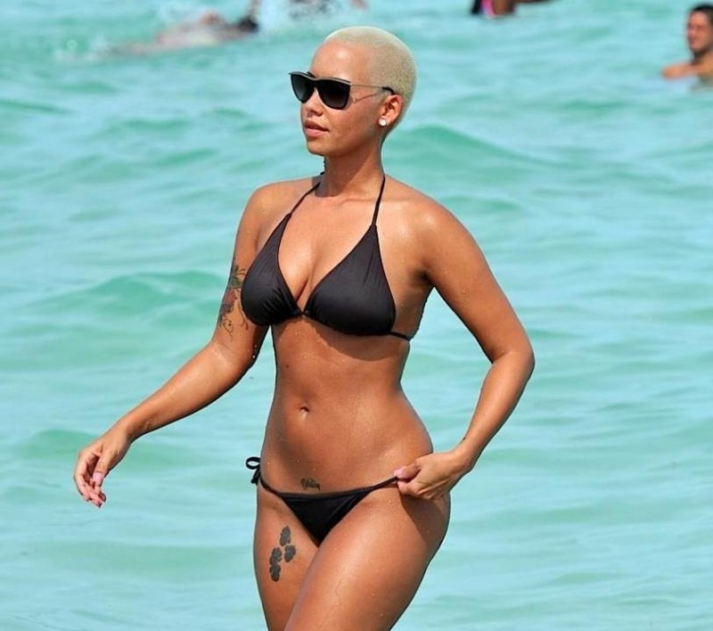 Amber Rose Bikini Photos Miami Beach