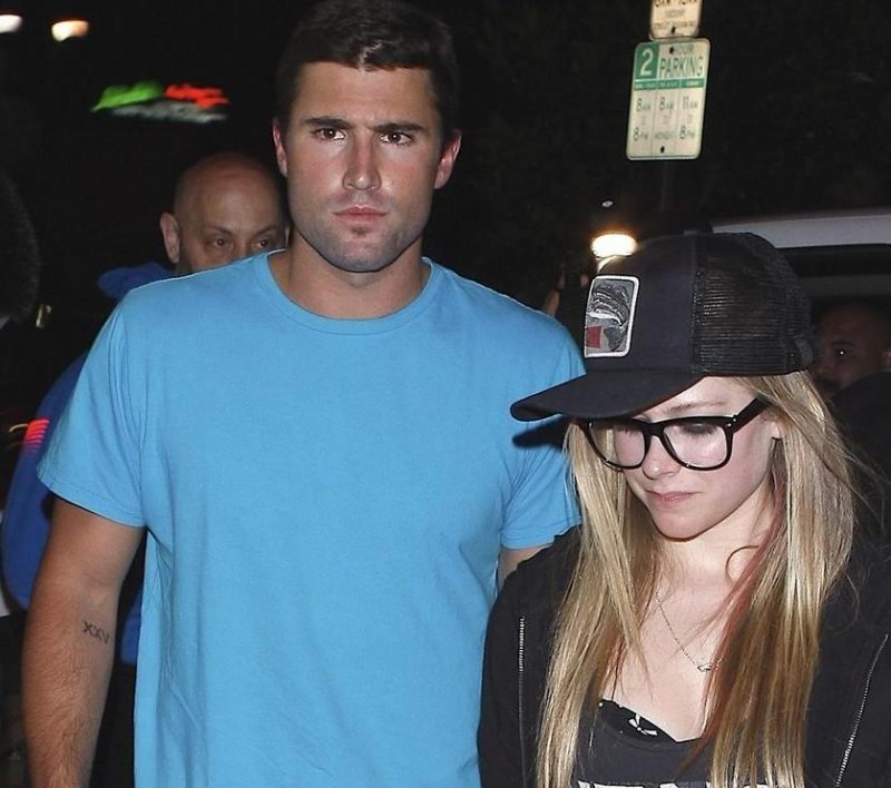 Avril Lavigne Brody Jenner Date Night