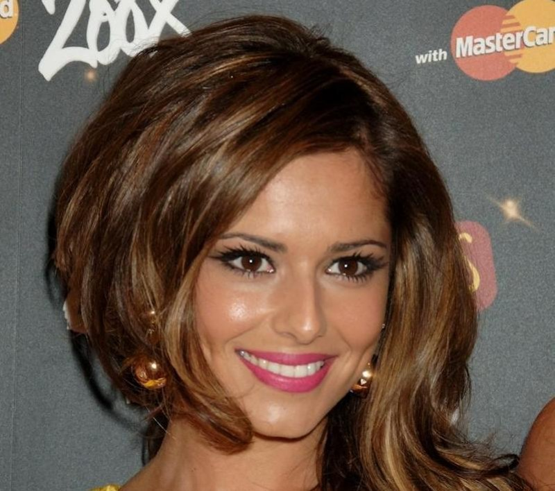 Cheryl Cole Brit Awards Backstage Awards