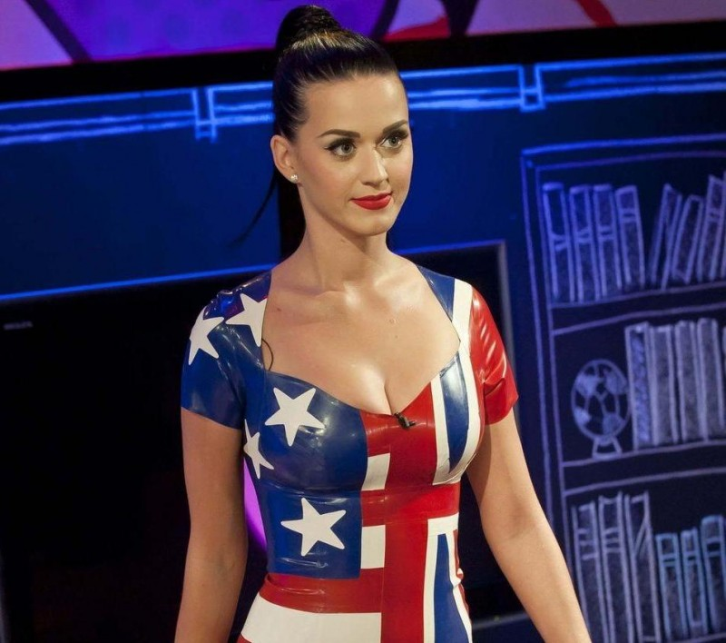 Katy Perry At James Cordens World Cup Live Show Live