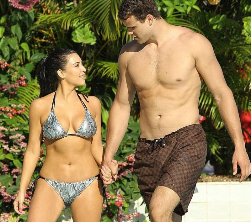Kim Kardashian Boyfriend Kris Humphries Holiday
