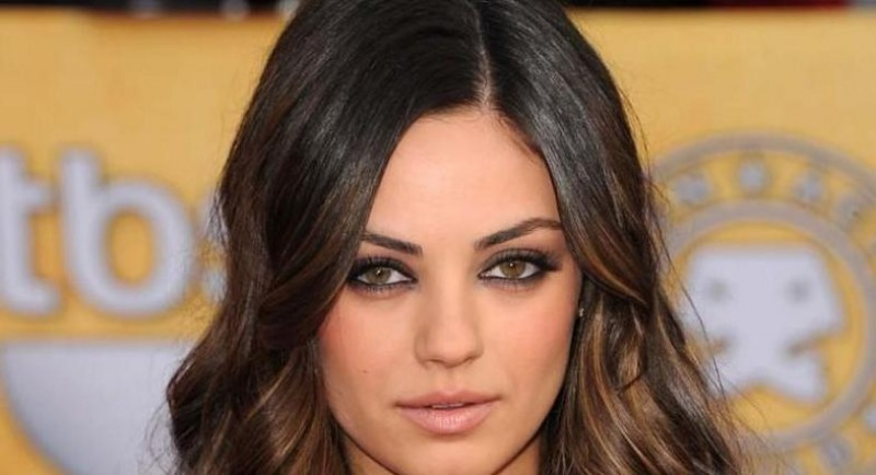 Mila Kunis Sag Awards Eyes