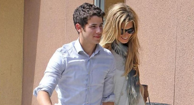 Nick Jonas Delta Goodrem Henry Hat Neighbours
