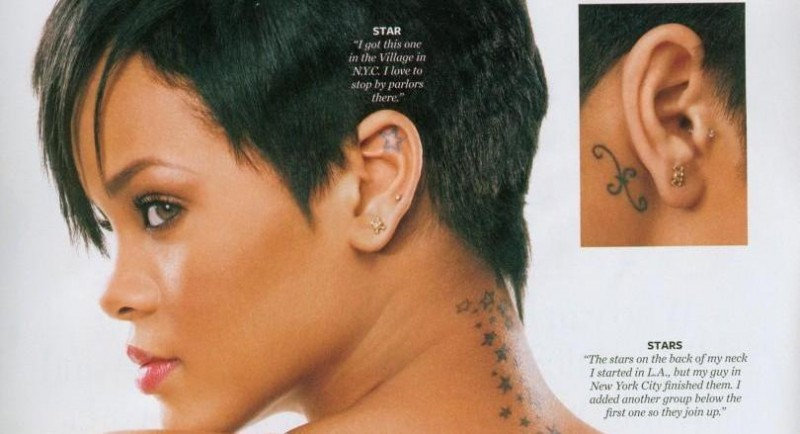 Rihanna Tattoo Tattoos